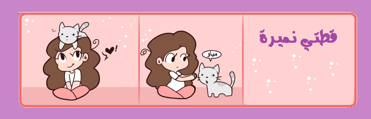 قطتي نميرة