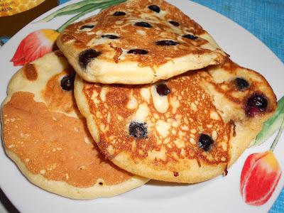 Pancake ai Mirtilli e al Cacao