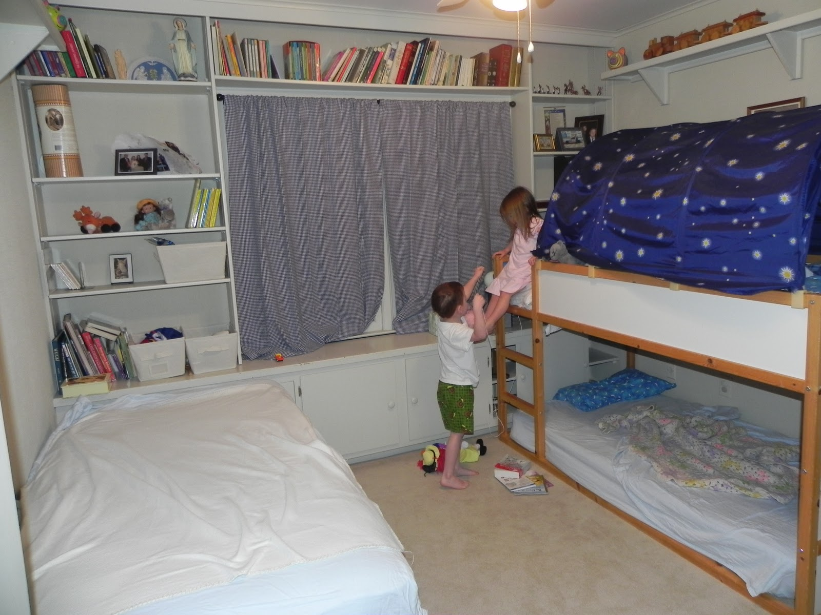 Gloria in Excelsis Deo: Unexpected New Bunk Bed