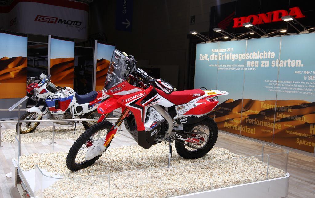 ASOCIACI  N MUTUA MOTERA  Honda CRF 450 Rally Dakar 2013
