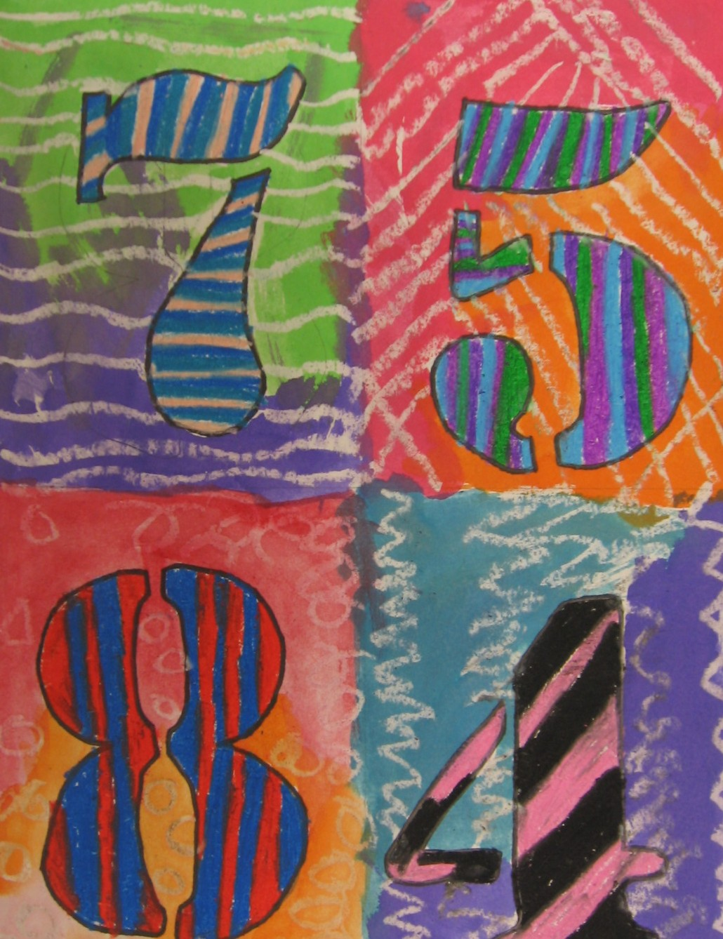 Free jasper johns coloring pages