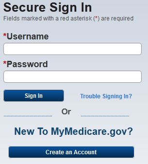 www.mymedicare.gov Interactive Medicare Portal