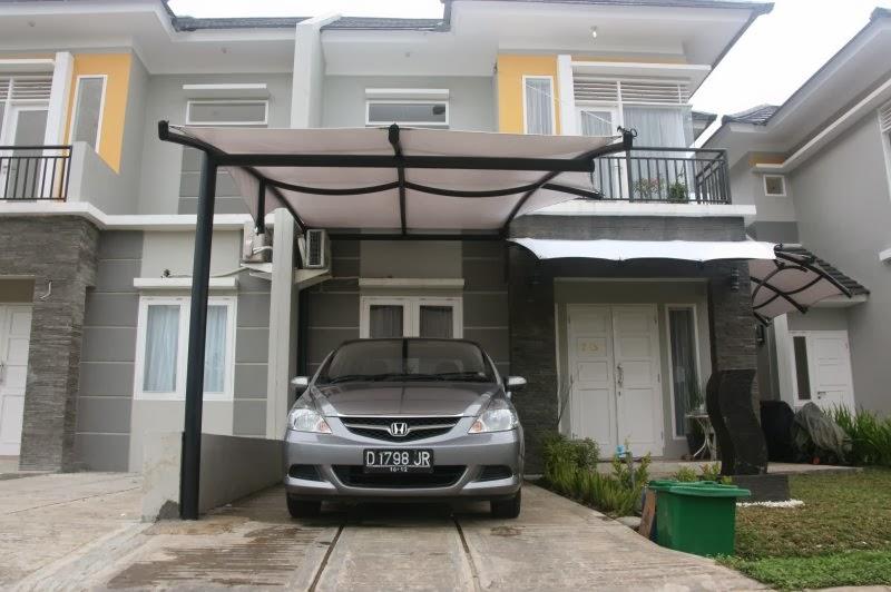 Desain carport minimalis menawan dan mewah