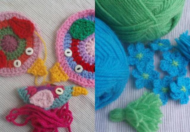 La ventana azul: 66.- Pajaritos a crochet y Flower Friday (42) - photo#21