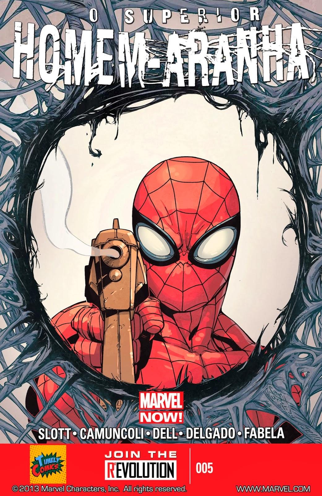 Nova Marvel! O Superior Homem-Aranha #5