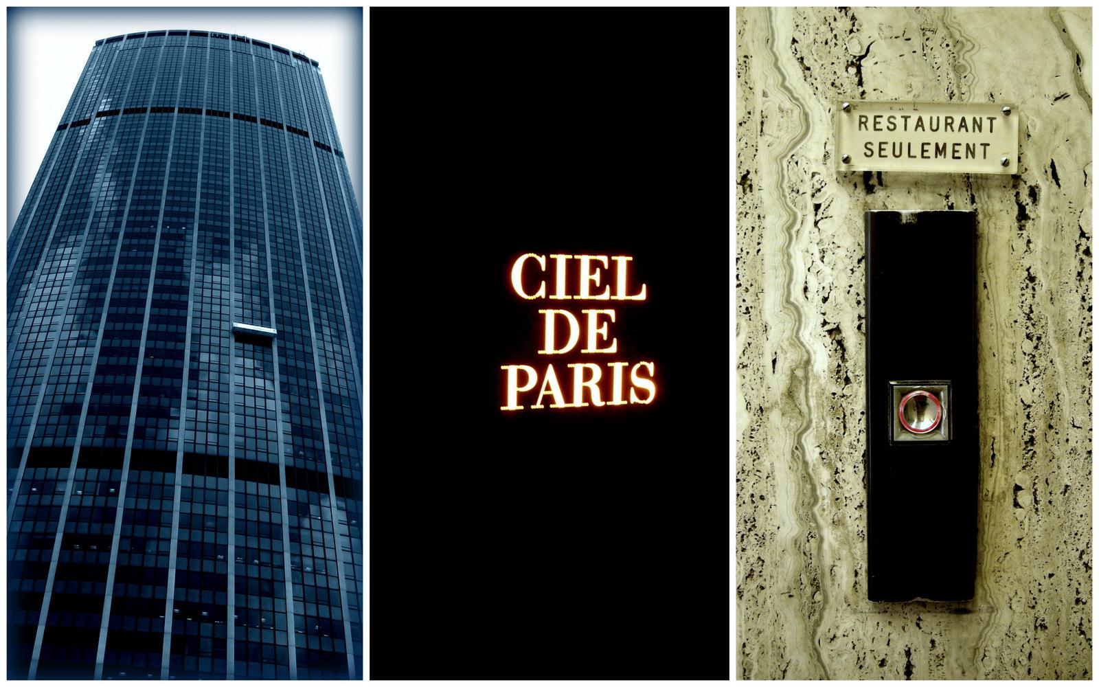 Restaurant Le Ciel De Paris  Ef Bf Bdme  Ef Bf Bdtage Tour Montparnasse