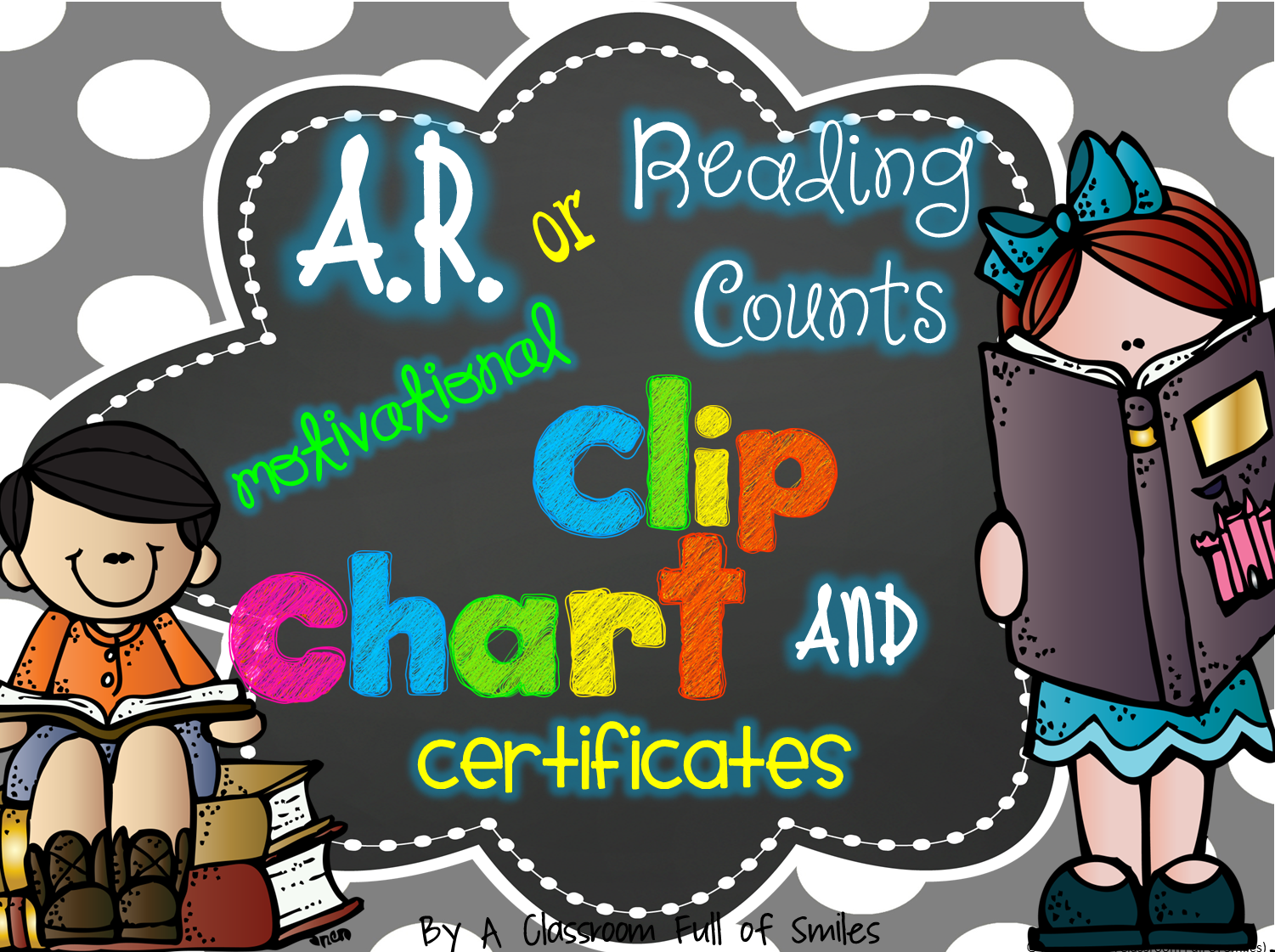 http://www.teacherspayteachers.com/Product/AR-or-Reading-Counts-Motivational-Clip-Chart-and-Certificates-1262325