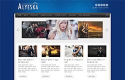 Alyeska Free Blogger Template