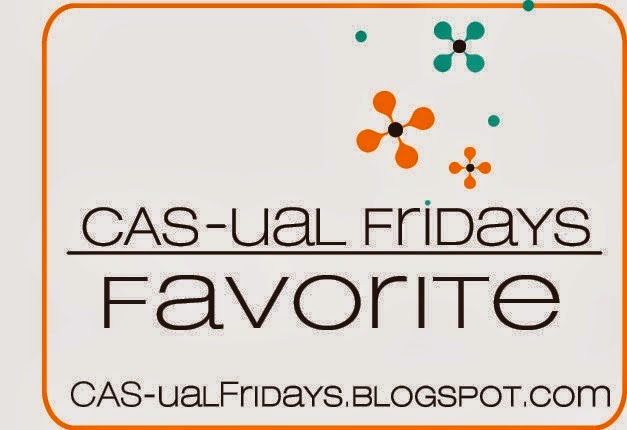 I'm CAS-ual Friday's Favorite in CFC# 133 Summer Lovin' Challenge! YAYYY!