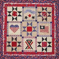 Free Quilt, Craft and Sewing Patterns: Links and Tutorials *With ... : free patriotic quilt patterns - Adamdwight.com