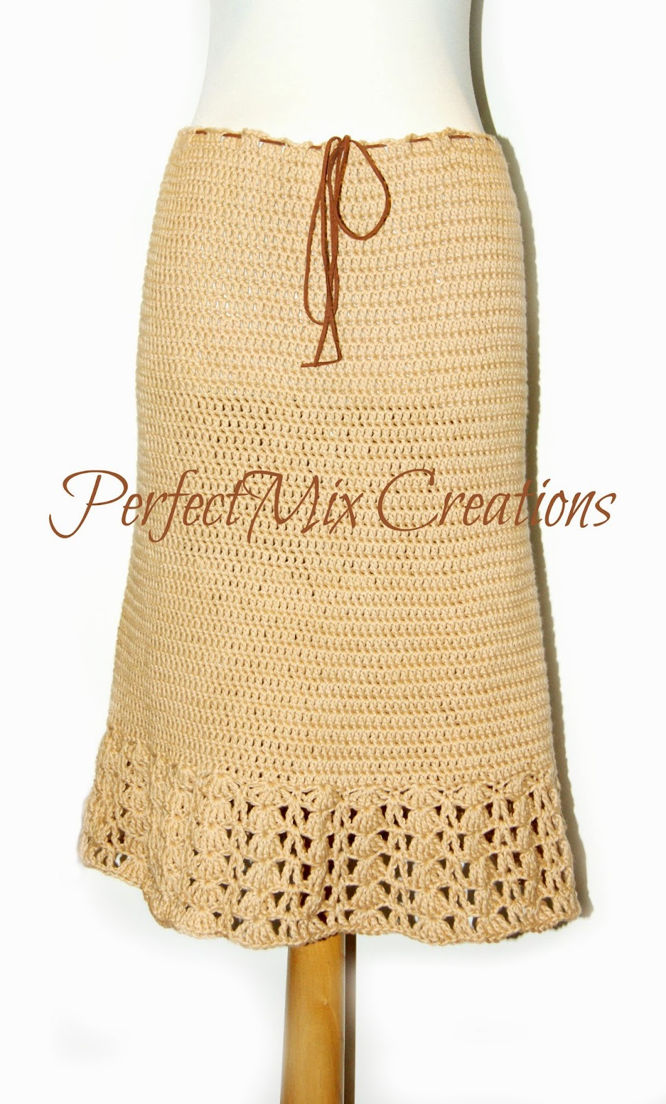 Free Crochet Pattern Maxi Skirt : Mixin it up with DaPerfectMix: Crochet Skirt
