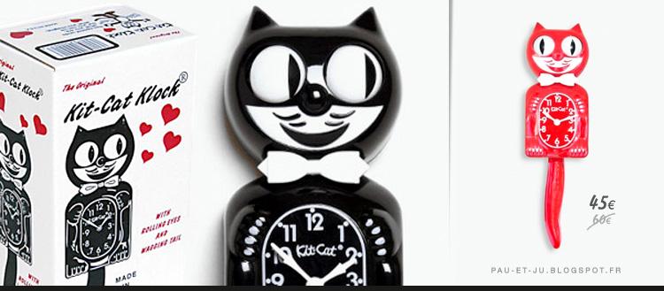 pau ju kit cat clock le chat qui a fait sourire l 39 amerique. Black Bedroom Furniture Sets. Home Design Ideas