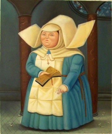 STELLEDILATTA: i religiosi di Botero