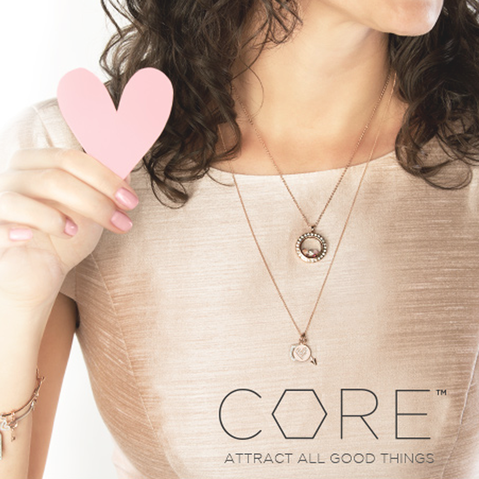 Origami Owl CORE - Attract All Good Things | Create your own custom jewelry pieces today at StoriedCharms.com