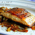 Salmon On A Bed Of Caramelized Onions Recipe