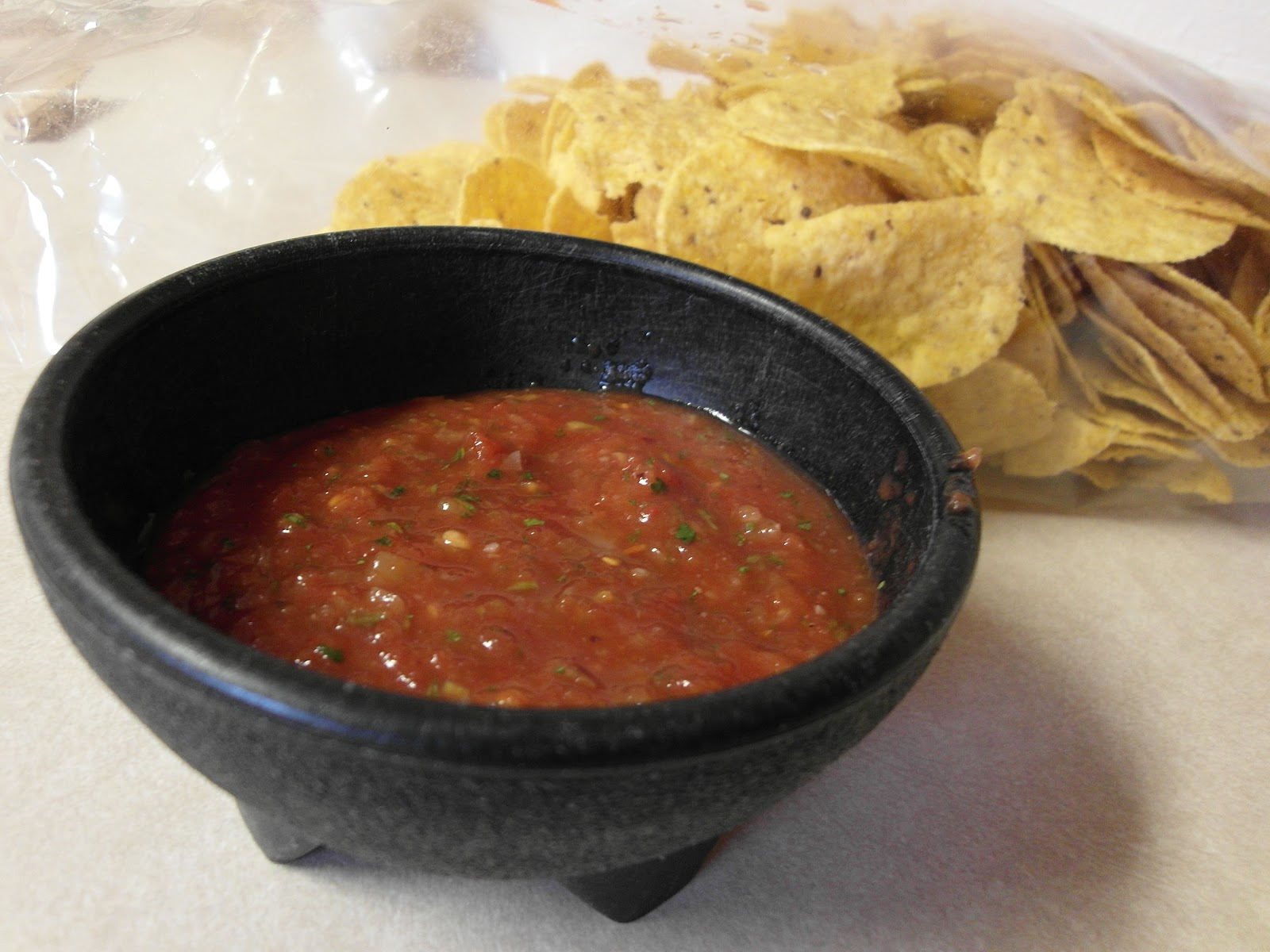 Sisters, What!: 5 second 5 ingredients Restaurant Style Salsa