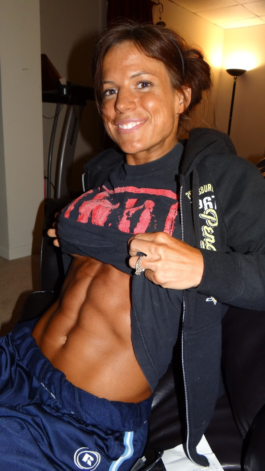 Anna Marie Horsford Nude Minimalist less than 24 hours until my first npc competition