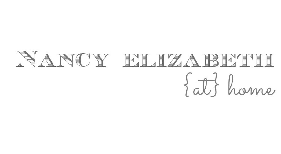 nancy elizabeth {at} home