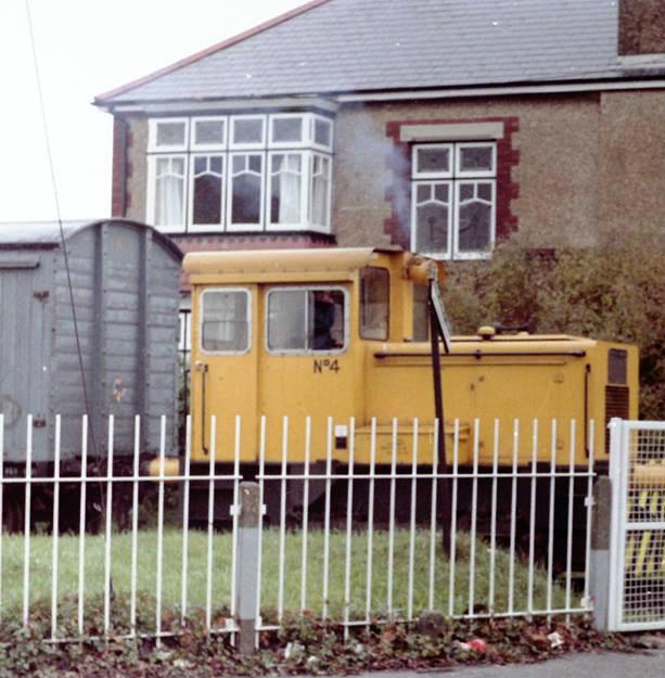 Priddys Hard train Elson Road