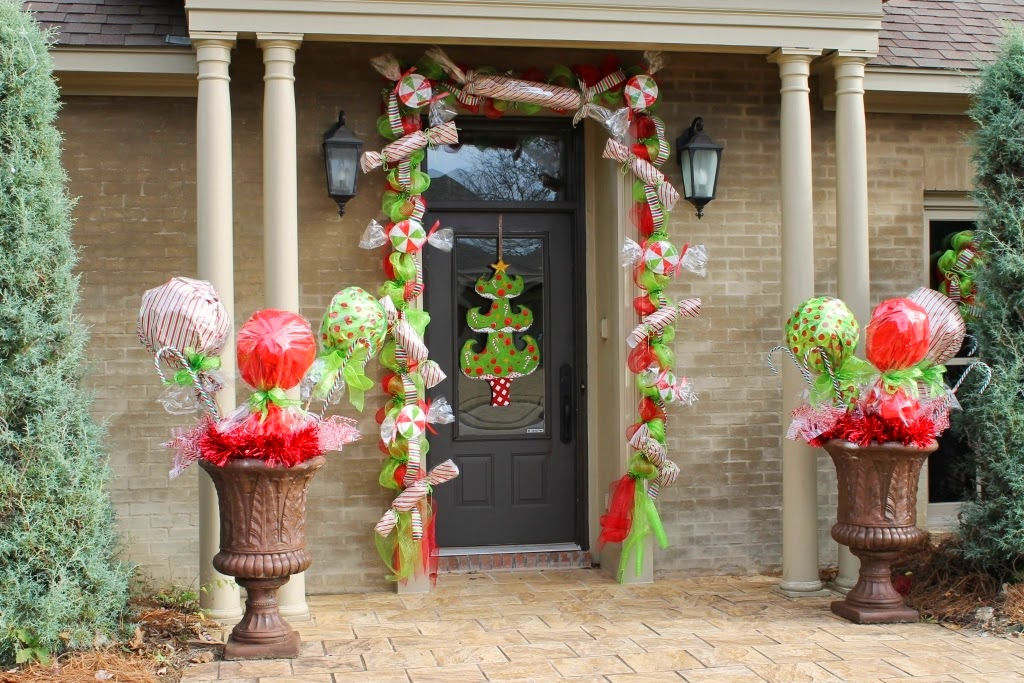 Outdoor christmas candy decorations images amp pictures becuo