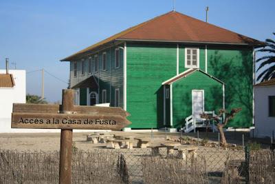 La Casa de Fusta in Delta de l'Ebre