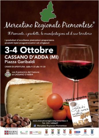 mercato regionale piemontese 2015 cassano d'adda ottobre