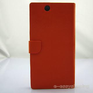 Stand PU Flip Pouch Cover Skin Case for Sony Xperia Z Ultra / ZU C6802 XL39h