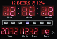 12 Beers at 12% for 12-12-12