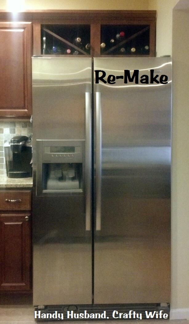 wine rack cabinet above fridge. Convert Your Refrigerator Cabinet To A Wine Rack! Rack Above Fridge I