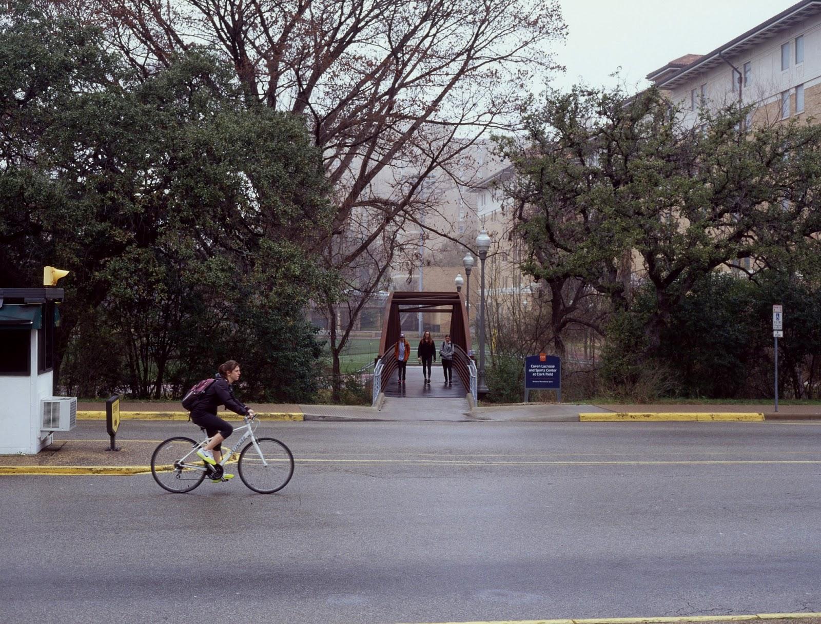 Pedestrians on UT Austin Campus