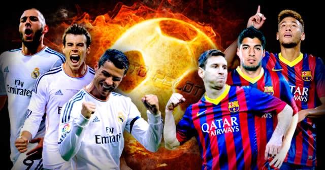 BBC vs MSN - Real Madrid vs Barcelona