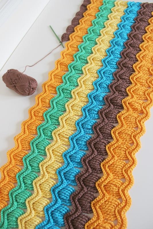 Crochet Stitches Australia : ... FAVORIS TRICOT-CROCHET: Mod?le gratuit : Un plaid vintage au crochet