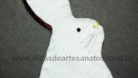 step by step bunny rabbit infelt for easter