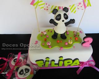 bolo bolachas aniversário canal panda