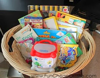 Instant library thrift store gift basket fun cheap or free instant library thrift store gift basket solutioingenieria Images