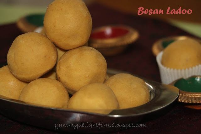 Besan ladoo recipe/ Diwali sweet recipes