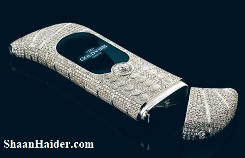 GoldVish 'Le Million' Piece Unique - The Most Expensive and Luxury Mobile Phones -