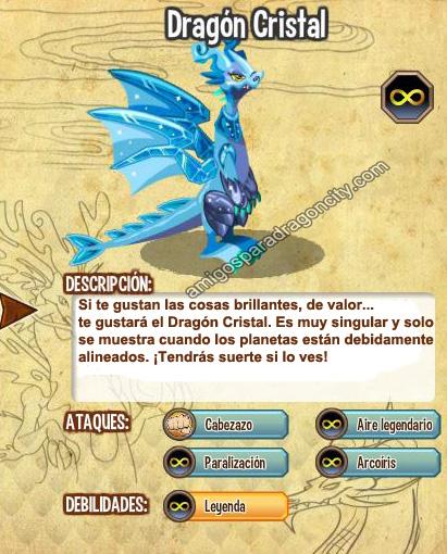 imagen del dragon cristal y sus caracteristicas