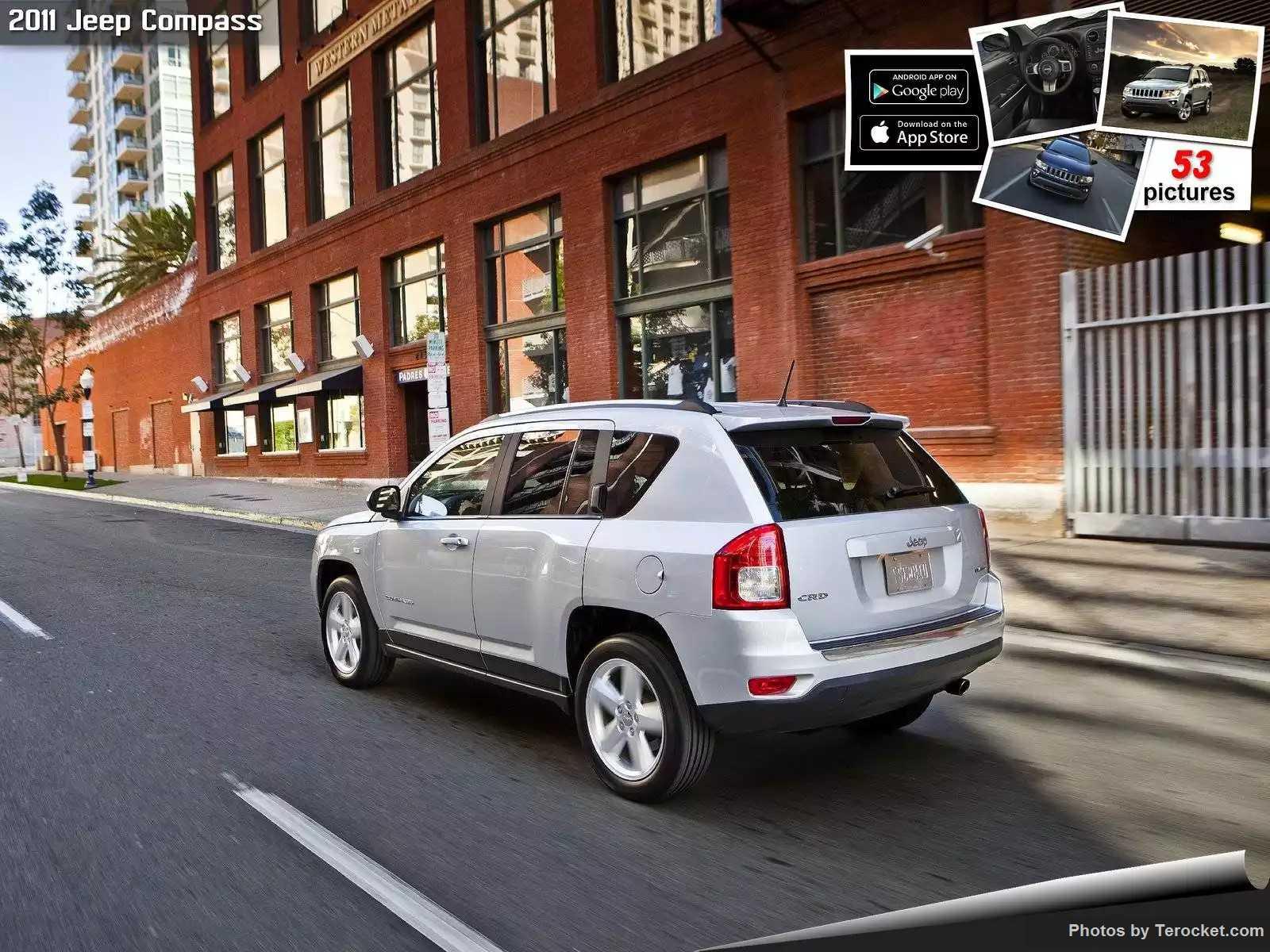 Hình ảnh xe ô tô Jeep Compass 2011 & nội ngoại thất