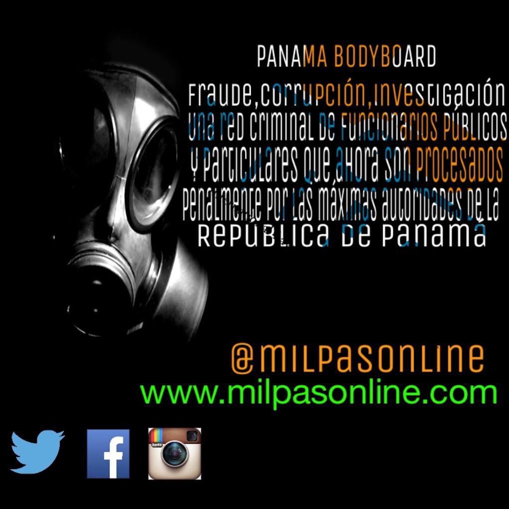 PANAMA BODYBOARD #FRAUDE