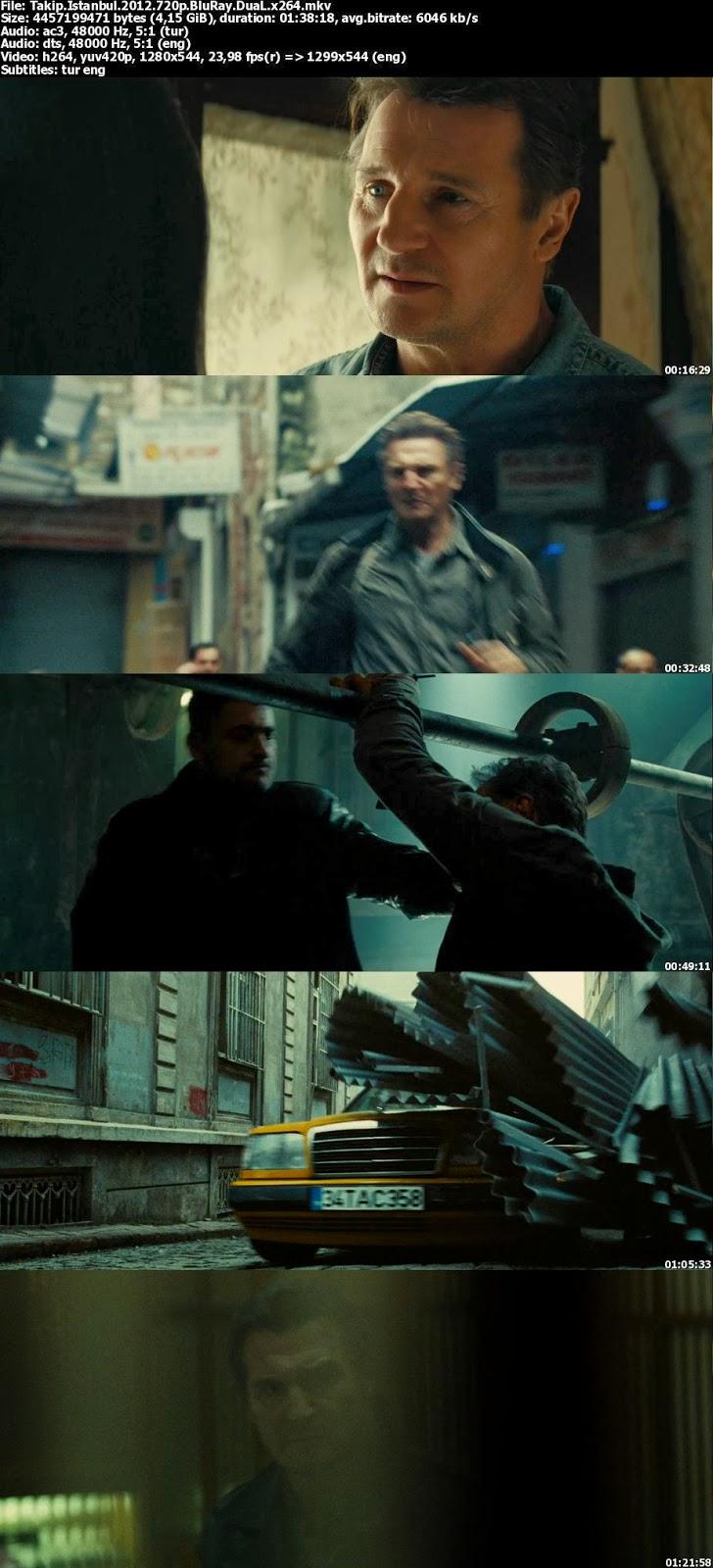 Taken 2 - Takip İstanbul 2012 BluRay 720p Türkçe Dublaj Film İndir