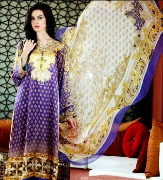 Gul Ahmed Chiffon Silk Dresses