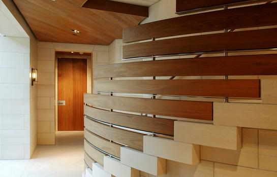 Fotos de escaleras fotos de barandales de madera para - Barandales modernos para escaleras ...