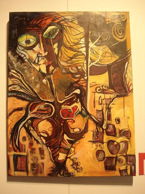 pintura: homenaje a Munch