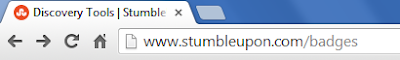 StumbleUpon badge link