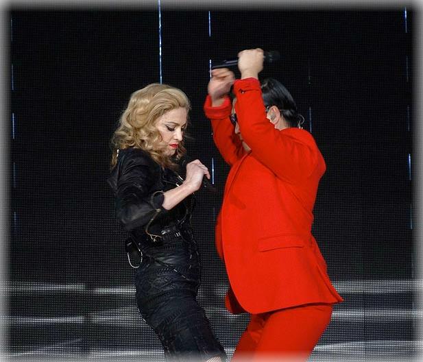 Madonna - Psy - Gangnam Style - Farándula