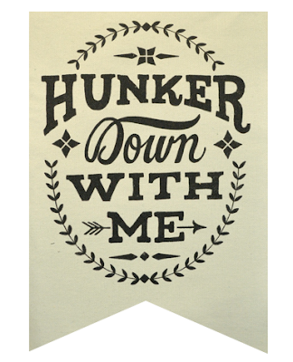 Hunker Down With Me from The Winter Cabin Collection