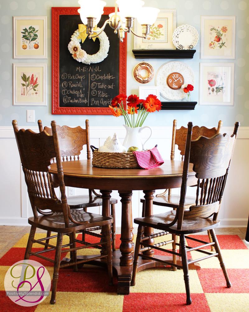 Http Www Positivelysplendid Com 2012 07 Vibrant Kitchen Update Html