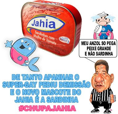 Novo mascote do jahia