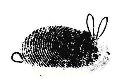tante ngangkang 10 kreasi unik dari sketsa sidik jari manusia